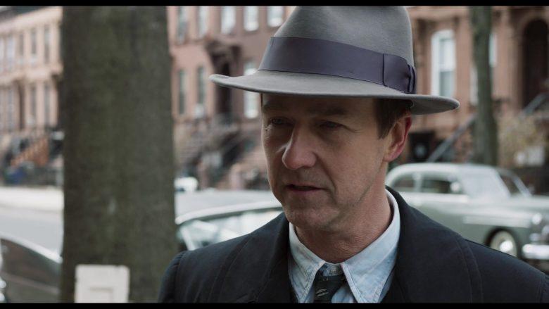 Stetson Hat Worn by Edward Norton as Lionel Essrog in Motherless Brooklyn (1)