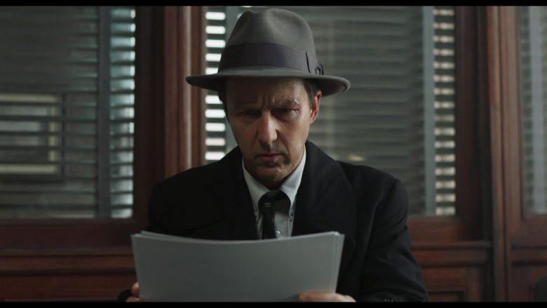 Stetson Hat Worn by Edward Norton as Lionel Essrog in Motherless Brooklyn (2)