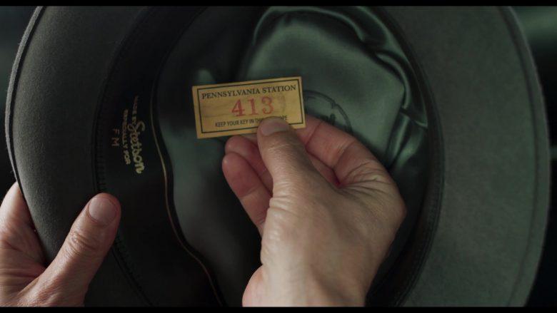 Stetson Hat Worn by Edward Norton as Lionel Essrog in Motherless Brooklyn (5)