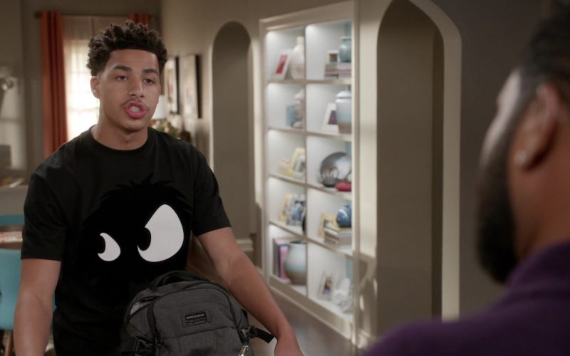 Swiss Gear Backpack Used by Marcus Scribner as Andre 'Junior' Johnson Jr. in Black-ish Season 6 Episode 12 Boss Daddy (2020)