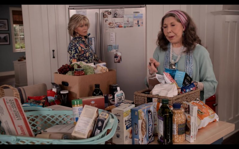 Swiss Miss in Grace and Frankie Season 6 Episode 1 The Newlyweds (2020)