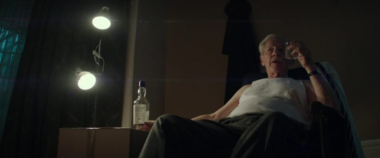 Talisker 10 Year Old Scotch Whisky Enjoyed by Ian McKellen in The Good Liar (2019) Movie