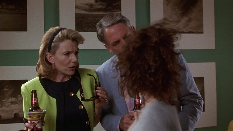Tecate Beer Enjoyed by Jill Clayburgh & John Bennett Perry in Fools Rush In (1)
