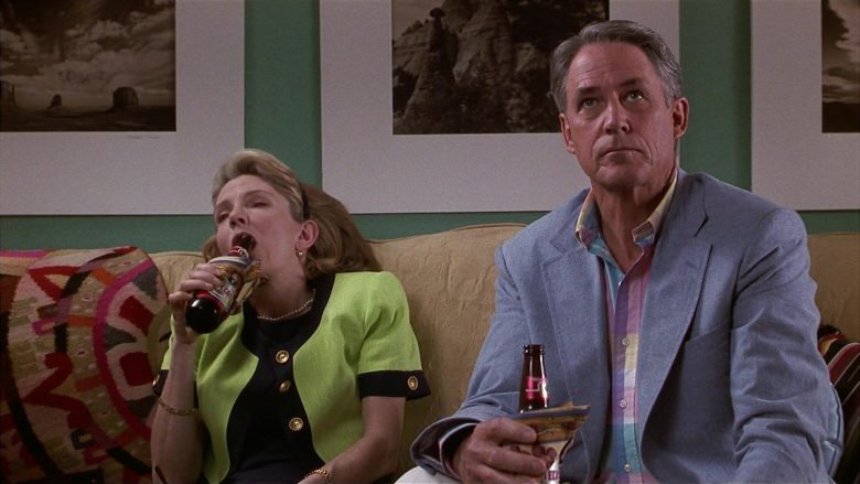 Tecate Beer Enjoyed by Jill Clayburgh & John Bennett Perry in Fools Rush In (2)
