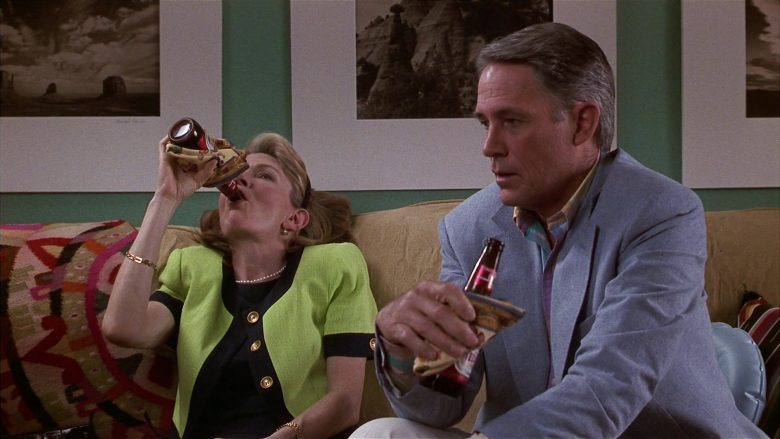Tecate Beer Enjoyed by Jill Clayburgh & John Bennett Perry in Fools Rush In (3)