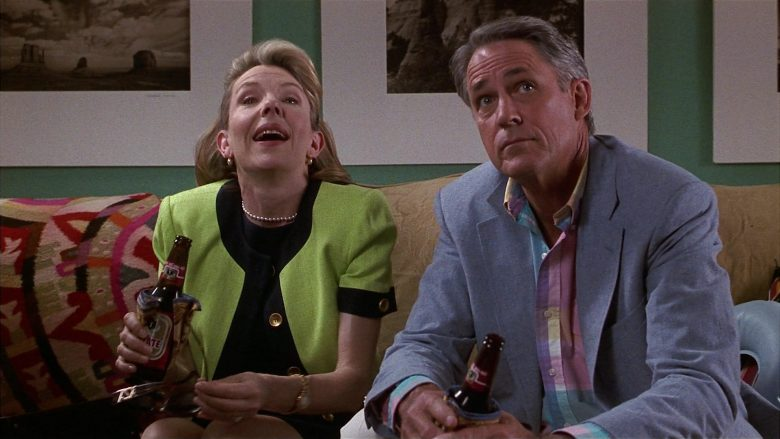 Tecate Beer Enjoyed by Jill Clayburgh & John Bennett Perry in Fools Rush In (4)