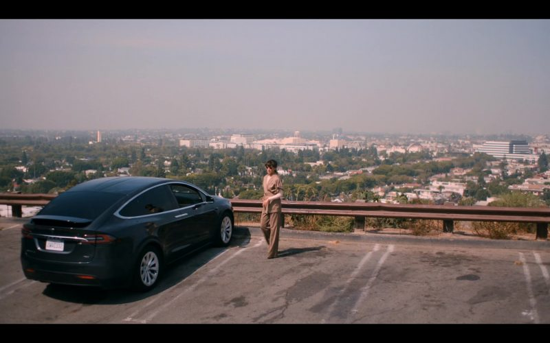 Tesla Model X Mid-Size All-Electric Luxury SUV Used by Jennifer Beals as Bette Porter (4)