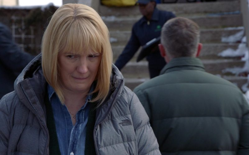 The North Face Down Coat For Women in Chicago Fire Season 8 Episode 11 Where We End Up (3)