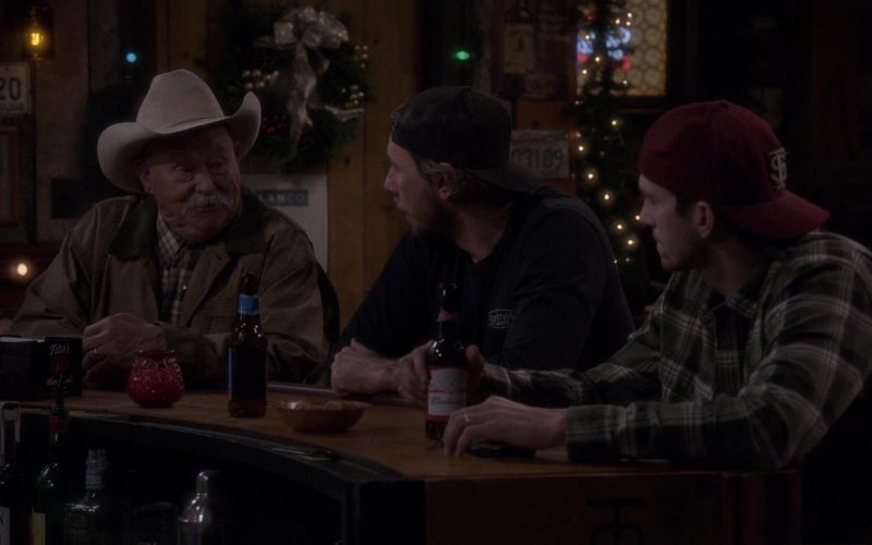Tito's Handmade Vodka and Budweiser Beer in The Ranch Season 4 Episode 20 (1)