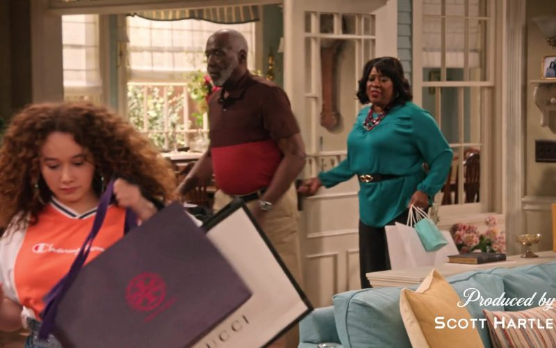 Tory Burch and Gucci in Family Reunion Season 1 Episode 20 Remember When the Party Was Over (2020)