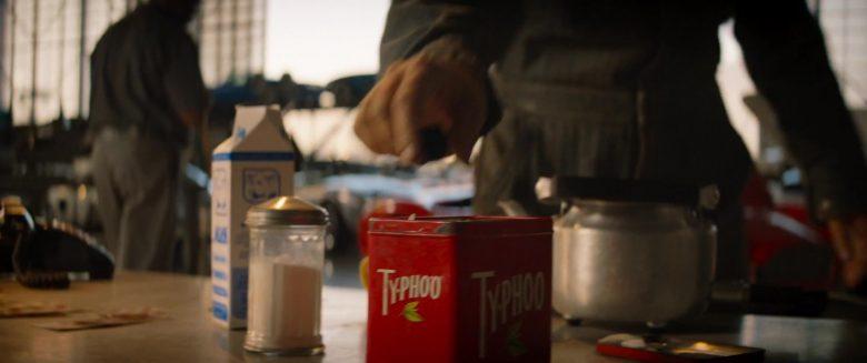 Typhoo Tea Enjoyed by Tea Christian Bale as Ken Miles in Ford v Ferrari (2019)