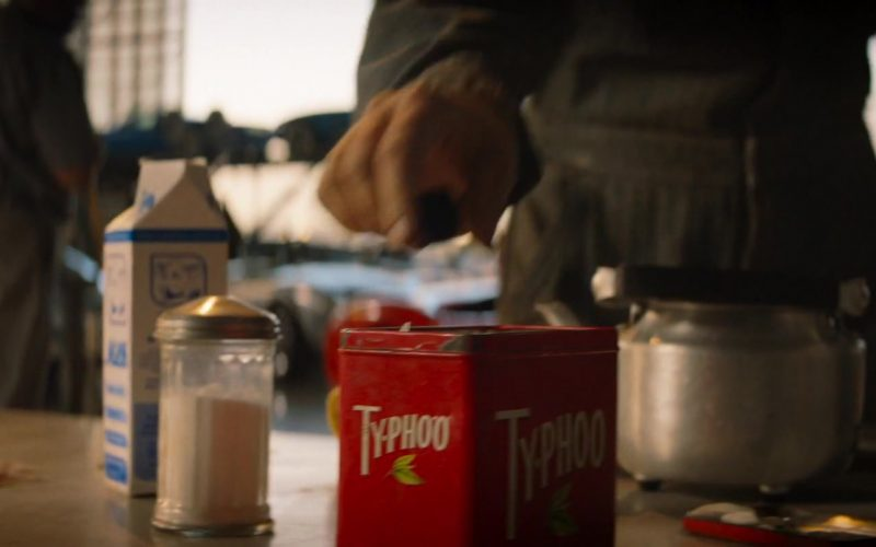 Typhoo Tea Enjoyed by Tea Christian Bale as Ken Miles in Ford v Ferrari (2019)