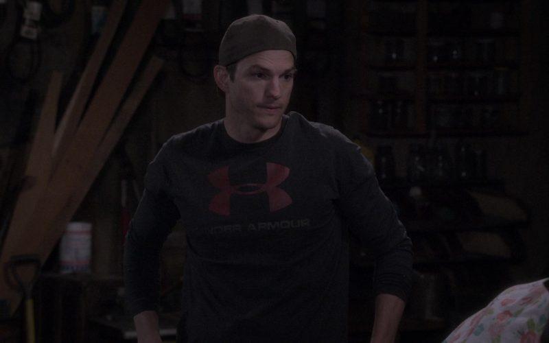 Under Armour T-Shirt Worn by Ashton Kutcher as Colt Reagan Bennett in The Ranch Season 4 Episode 12 (2)