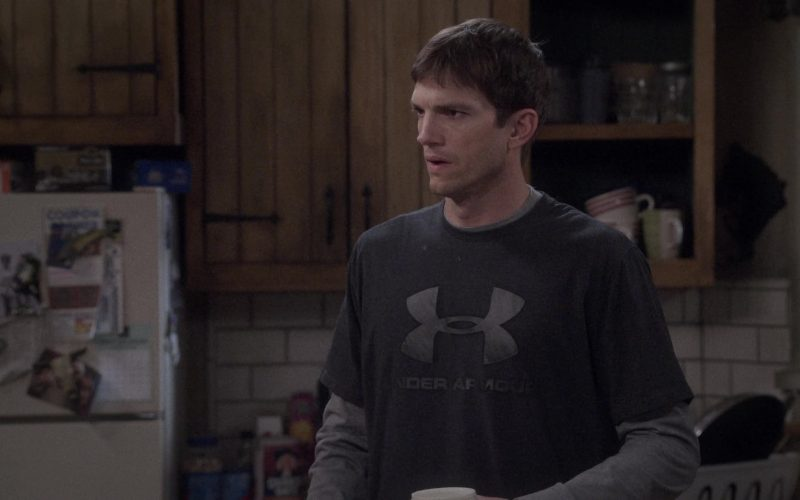 Under Armour Tee Worn by Ashton Kutcher as Colt Reagan Bennett in The Ranch Season 4 Episode 13 (3)