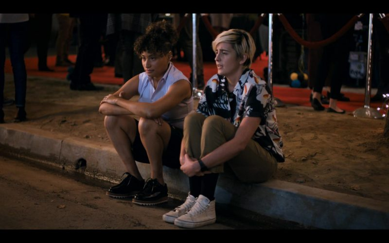 Vans All-White Sneakers Worn by Jacqueline Toboni as Sarah Finley in The L Word Generation Q Season 1 Episode 8 (2020)