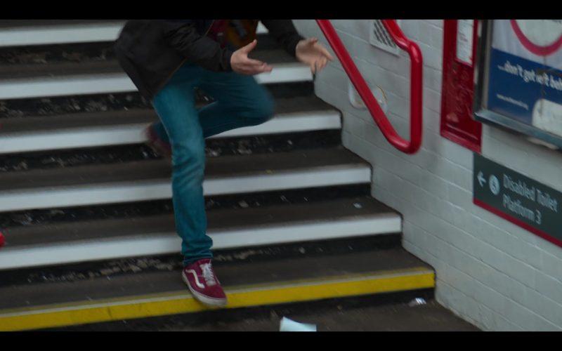 Vans Red Shoes in The Stranger Episode 4 (1)