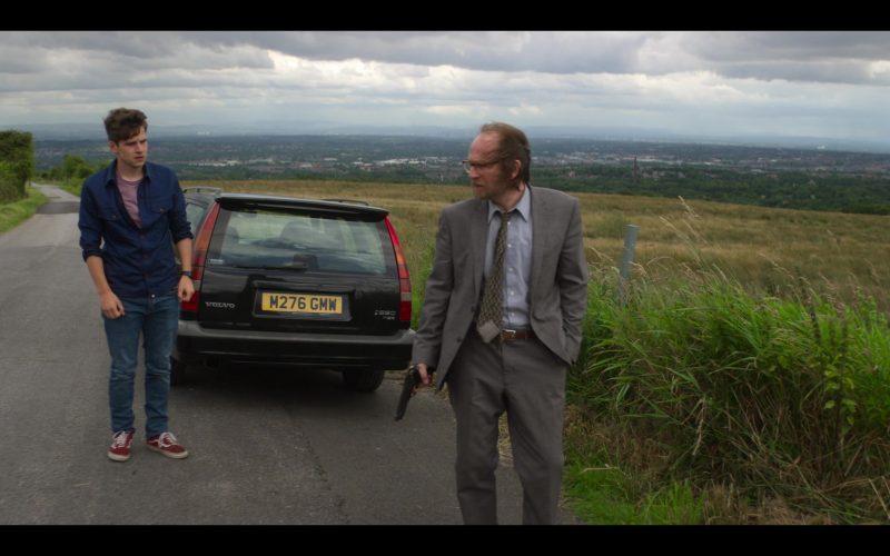 Vans Red Sneakers Worn by Jacob Dudman as Thomas Price in The Stranger Episode 7 (1)