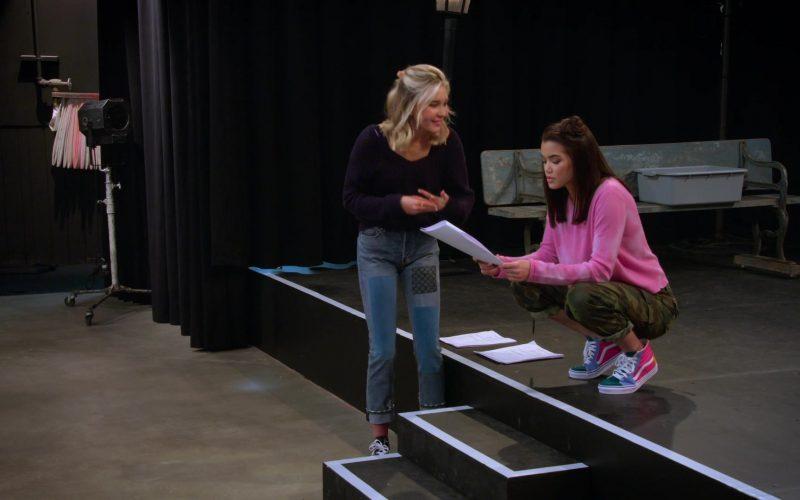 Vans Shoes Worn by Paris Berelc in Alexa & Katie Season 3 Episode 6 Writer-Director-Nervous Wreck