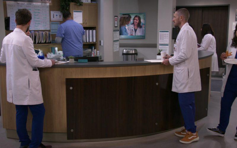 Vans Sneakers Worn by Lucas Neff and Sabrina Jalees in Carol's Second Act Season 1 Episode 12 Peer Evaluations (1)