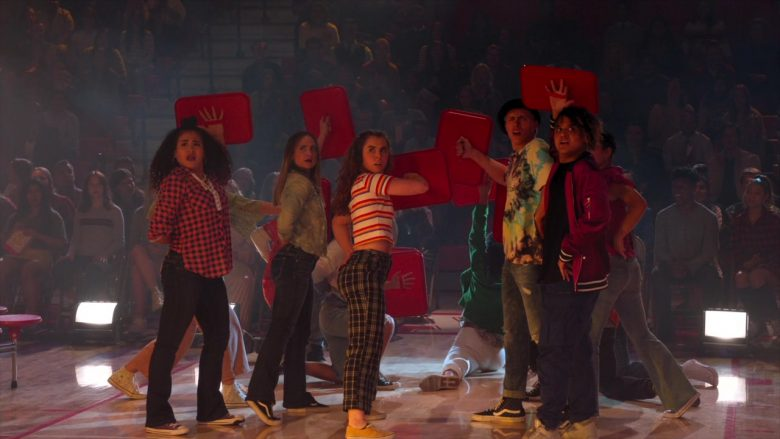 Vans Sneakers in High School Musical The Musical The Series Season 1 Episode 9 Opening Night