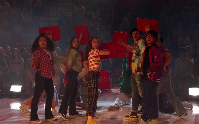 Vans Sneakers in High School Musical The Musical The Series Season 1 Episode 9 Opening Night