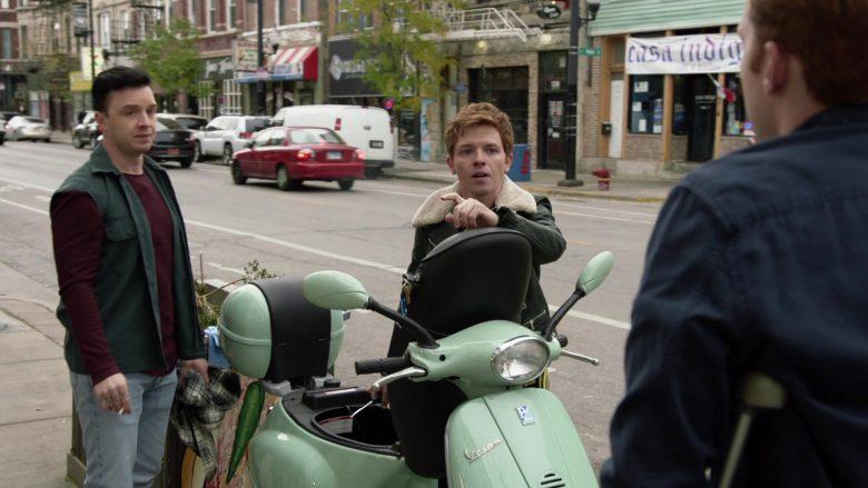 Vespa Scooter in Shameless Season 10 Episode 10 Now Leaving Illinois (2020)