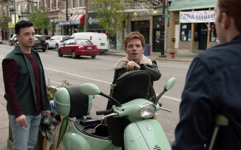 Vespa Scooter in Shameless Season 10 Episode 10 Now Leaving Illinois (2020)