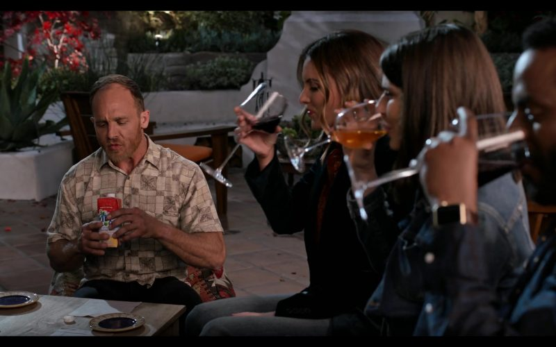 Vita Coco Coconut Water Enjoyed by Ethan Embry in Grace and Frankie Season 6 Episode 5 The Confessions (2020)