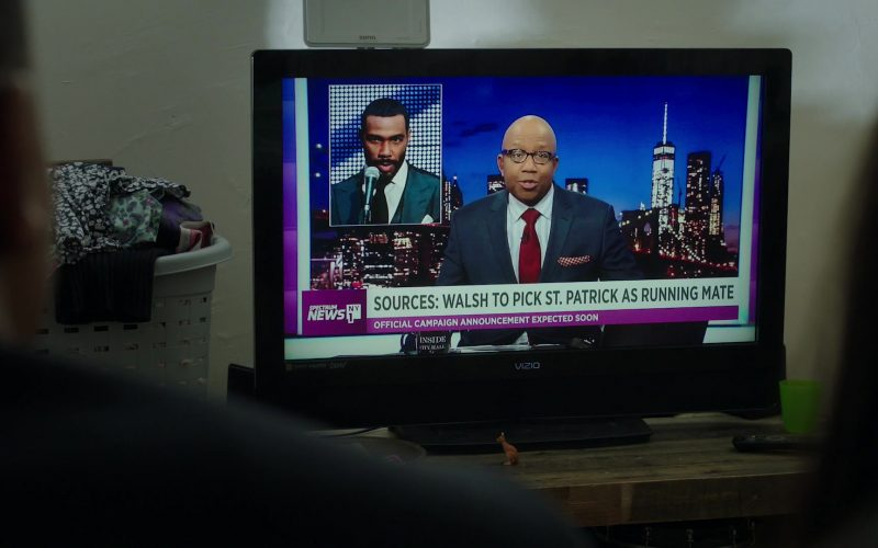 Vizio TV and Spectrum News in Power Season 6 Episode 11 Still Dre (1)