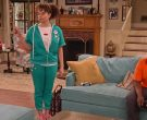 Wildfox Hoodie and Sweatpants Tracksuit Worn by Talia Jackson as Jade McKellan in Family Reunion Season 1 Episode 19 (4)