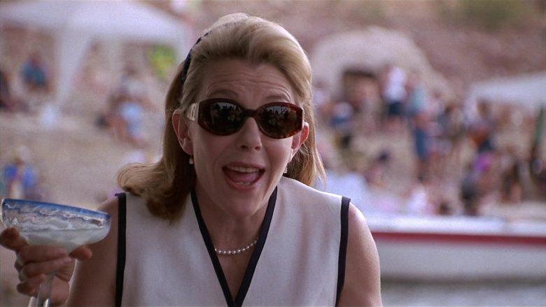 YSL Sunglasses Worn by Jill Clayburgh as Nan Whitman in Fools Rush In (6)