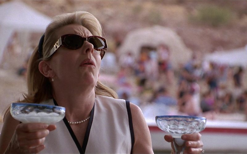 YSL Sunglasses Worn by Jill Clayburgh as Nan Whitman in Fools Rush In (7)