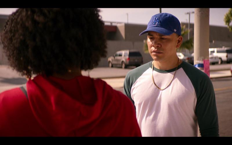 '47 Brand Blue Cap Worn by Joseph Julian Soria as Erik in Gentefied S01E04