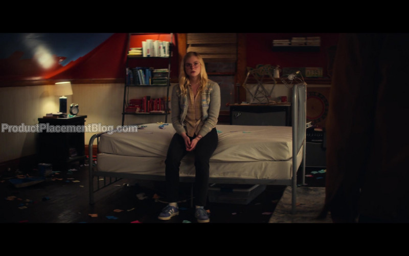 Adidas Blue Sneakers Worn by Elle Fanning as Violet Markey in All the Bright Places