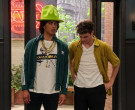 Adidas Green Jacket Worn by Conor Husting as Tad Cameron in The Expanding Universe of Ashley Garcia Season 1 Episode 6 (2)
