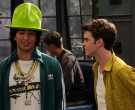 Adidas Green Jacket Worn by Conor Husting as Tad Cameron in The Expanding Universe of Ashley Garcia Season 1 Episode 6 (3)