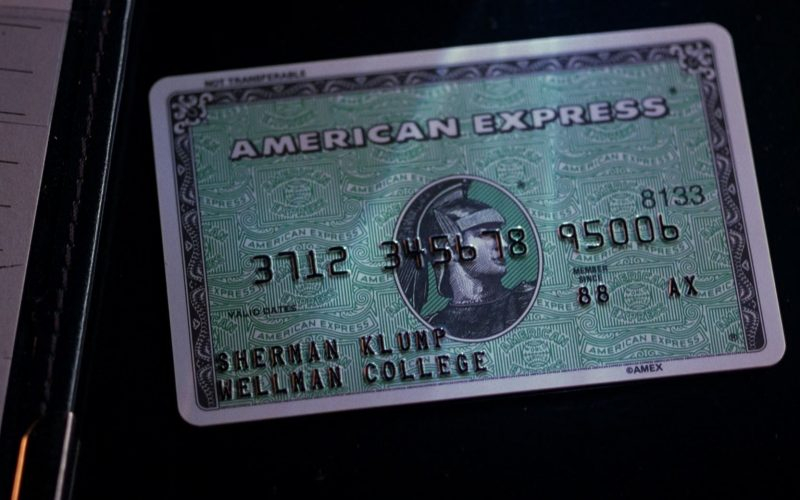 American Express Card in The Nutty Professor (1996)