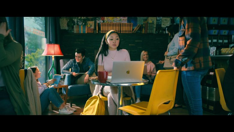 Apple MacBook Laptop Computer Used by Lana Condor as Lara Jean Song Covey in To All the Boys: P.S. I Still Love You (2020) Movie