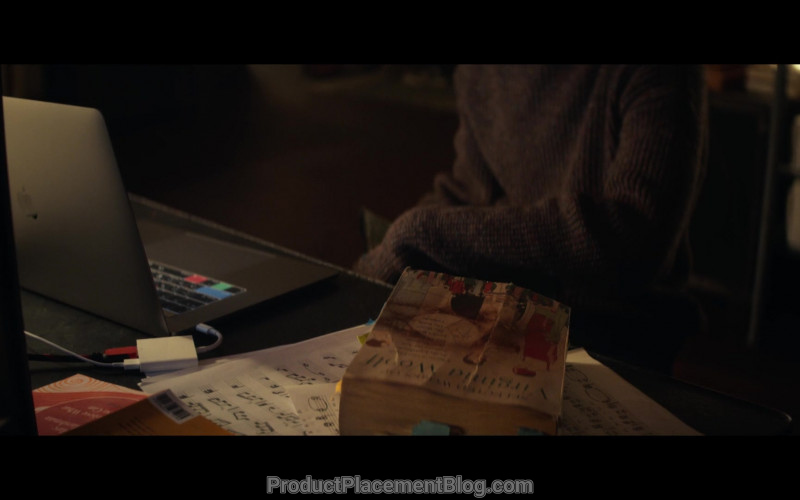 Apple MacBook Laptop Used by Justice Smith as Theodore Finch in All the Bright Places