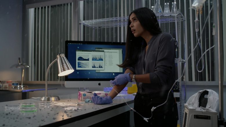 "Apple iMac All-In-One Computer Used by Parveen Kaur as Saanvi Bahl in Manifest Season 2 Episode 6 ""Return Trip"" (2020) TV Show"