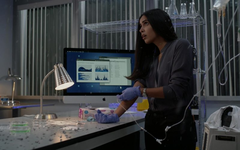 Apple iMac All-In-One Computer Used by Parveen Kaur as Saanvi Bahl in Manifest Season 2 Episode 6 Return Trip (2020)