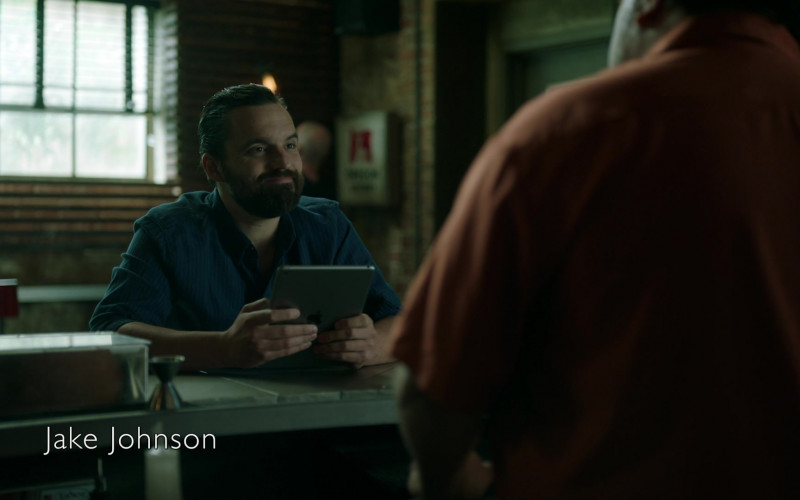 Apple iPad Tablet Used by Jake Johnson as Grey McConnell in Stumptown S01E15