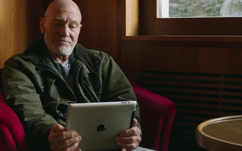 Apple iPad Tablet Used by Patrick Stewart in Coda 2019 Movie (1)