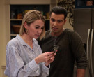 Apple iPhone Black Smartphone Held by Chelsea Kane as Ava in...