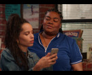 Apple iPhone Held by Zoë Kravitz as Rob in High Fidelity Season 1 Episode 4 Good Luck and Goodbye (3)