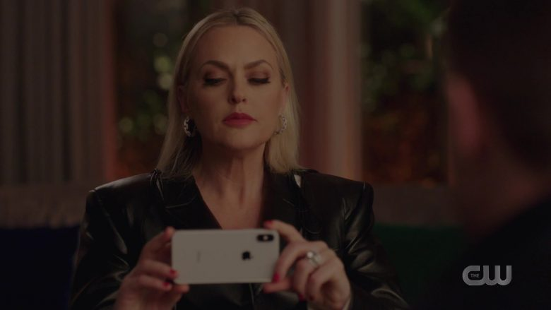 """Apple iPhone Mobile Phone in Dynasty Season 3 Episode 11 """"A Wound That May Never Heal"""" (2020) TV Show"""