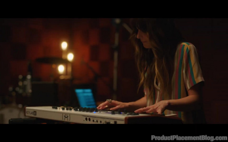 Arturia KeyLab Used by Dakota Johnson as Maggie Sherwood in High Note (2019)