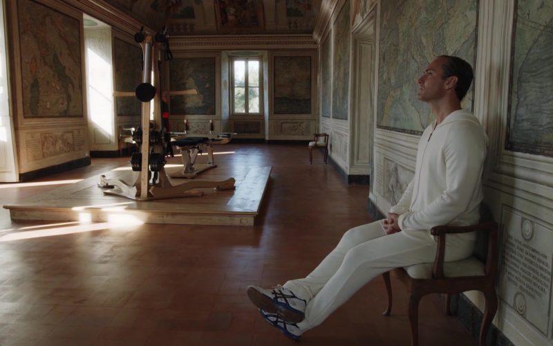 Asics Sneakers Worn by Jude Law as Pope Pius XIII (Lenny Belardo) in The New Pope Season 1 Episode 8 (2)