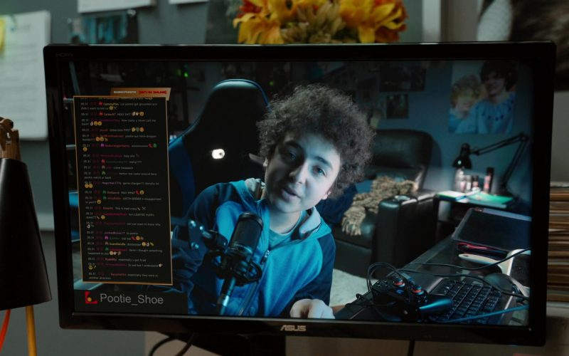 Asus Computer Monitor in Mythic Quest Raven's Banquet Season 1 Episode 4 The Convention (2020)