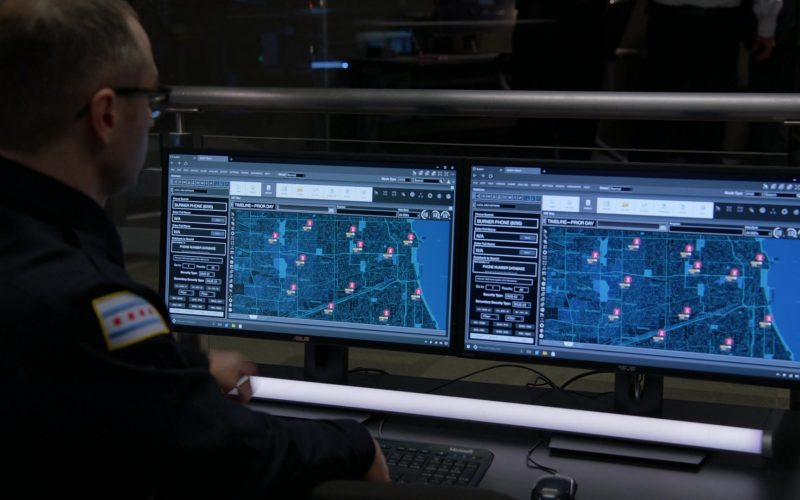 Asus Monitors in Chicago P.D. Season 7 Episode 13 I Was Here (2020)